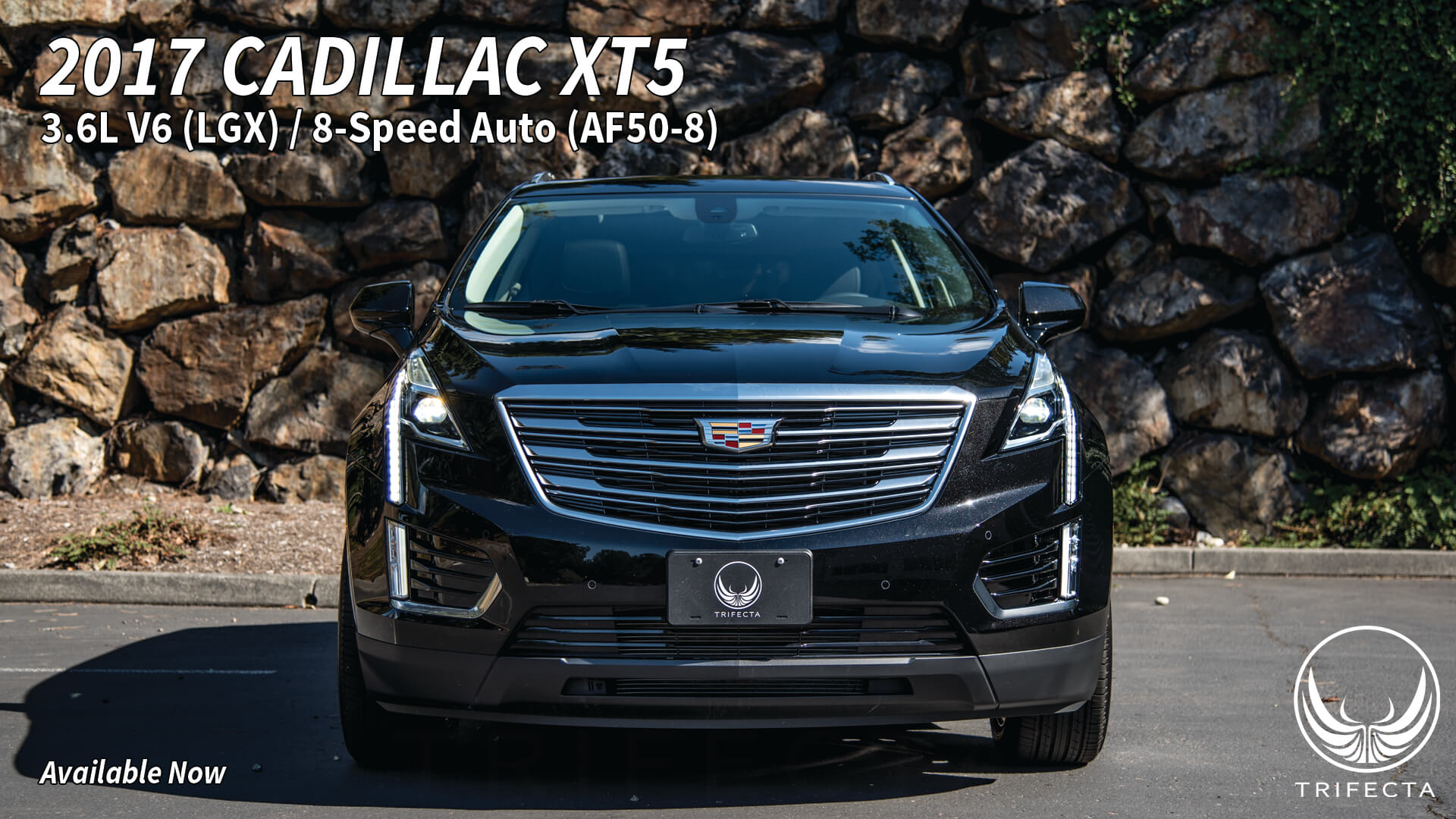 Trifecta for your cadillac xt5