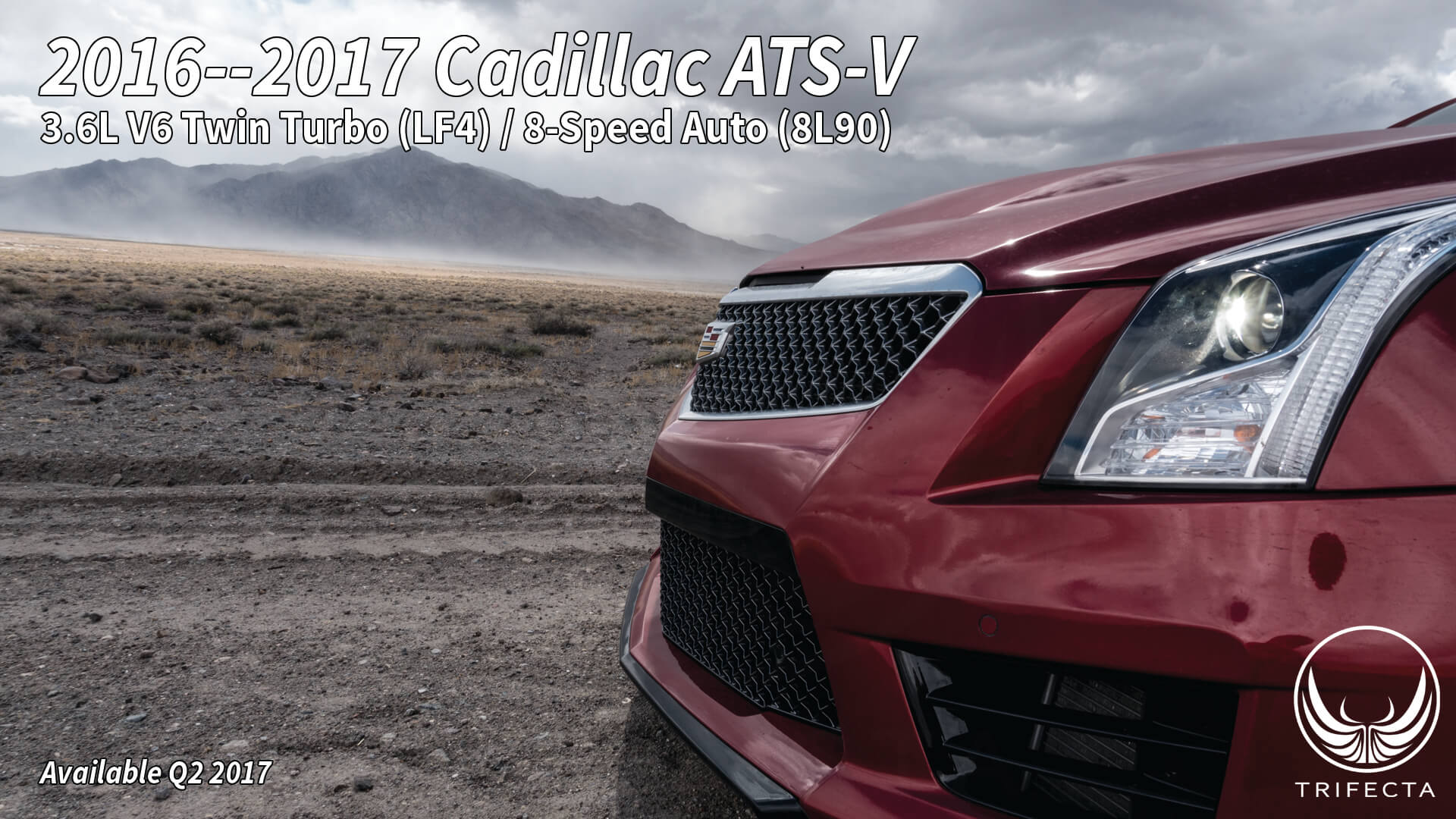 Trifecta cadillac ats v 600hp factory hardware come get some