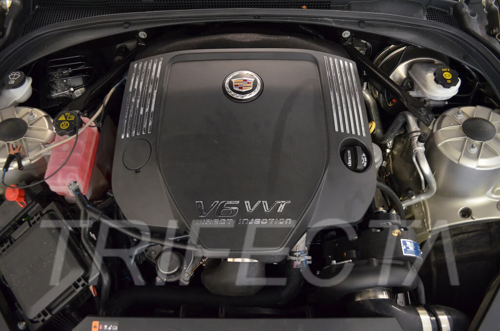 TRIFECTA presents: Cadillac ATS 3.6 LFX Supercharger Powerkit ...