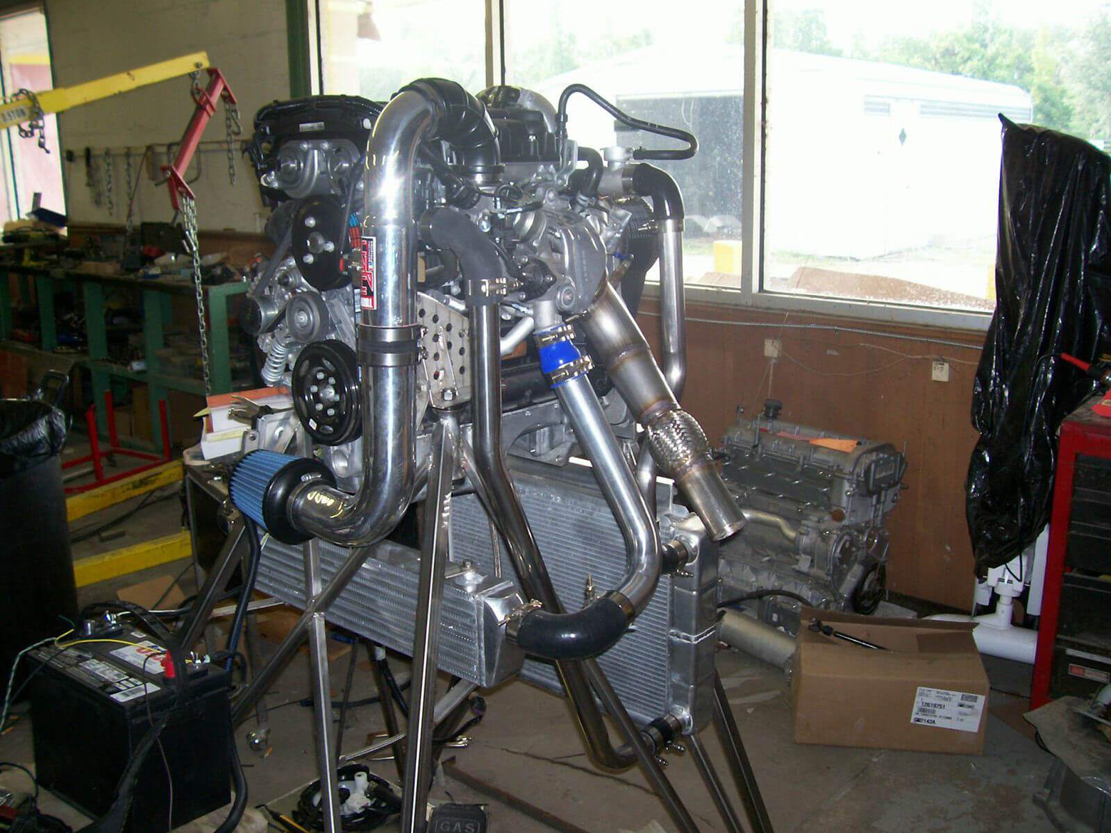 Cruze 1.4L Turbo set-up for Airboat
