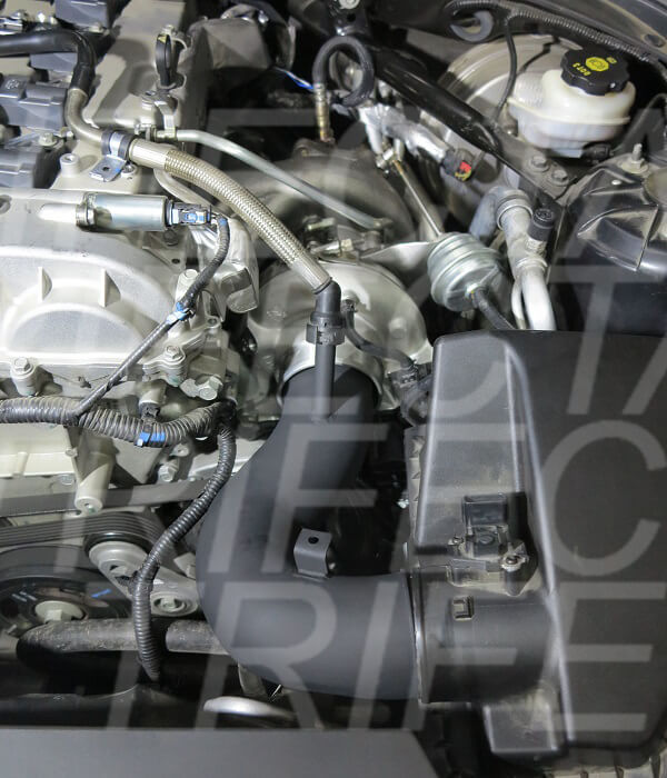 TRIFECTA presents: Cadillac ATS 2.0T LTG EFR Turbocharger Powerkit