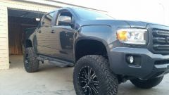 My 15 GMC CANYON ON 35'S