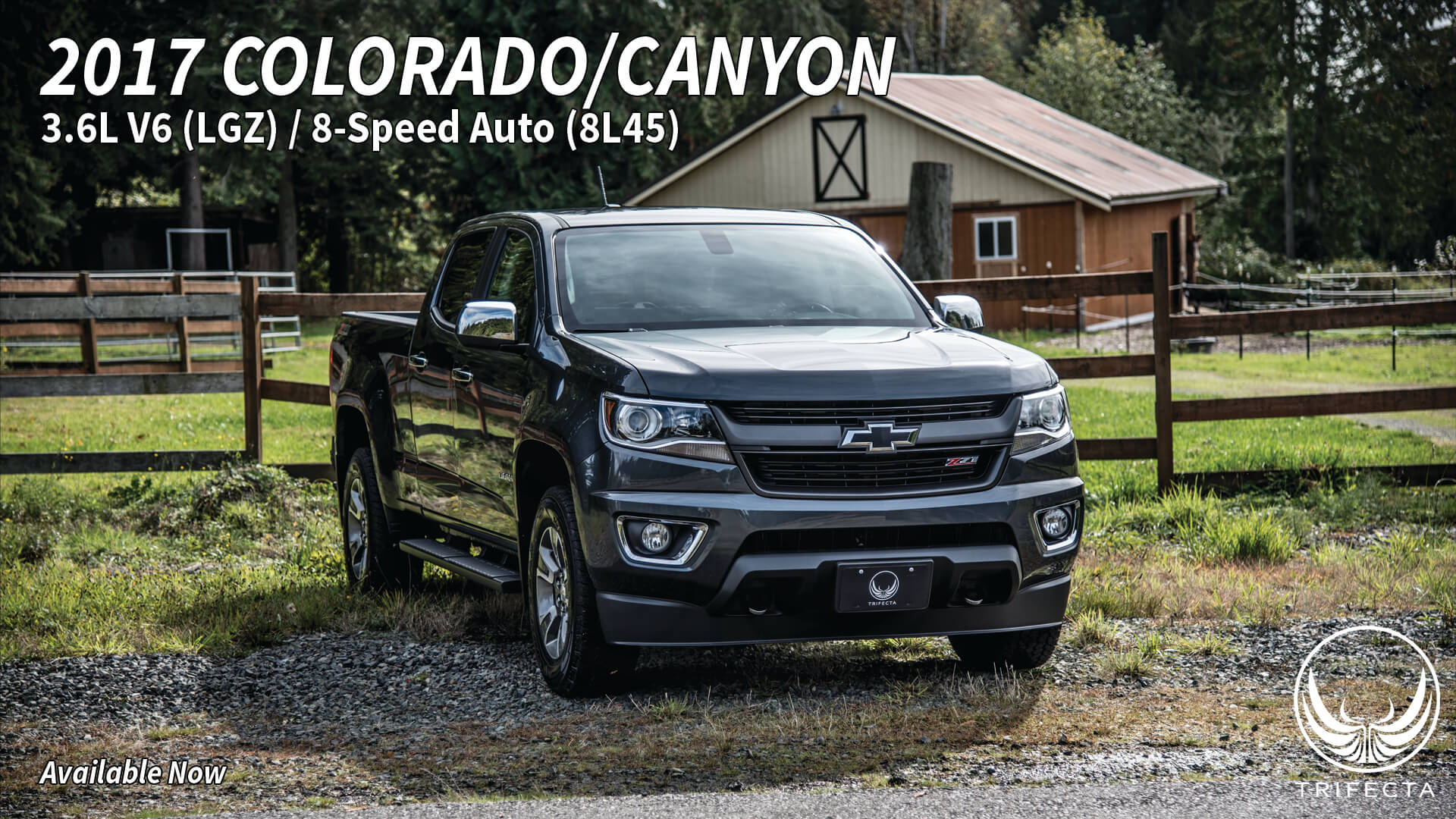 TRIFECTA presents: Chevrolet Colorado / GMC Canyon MY2017+
