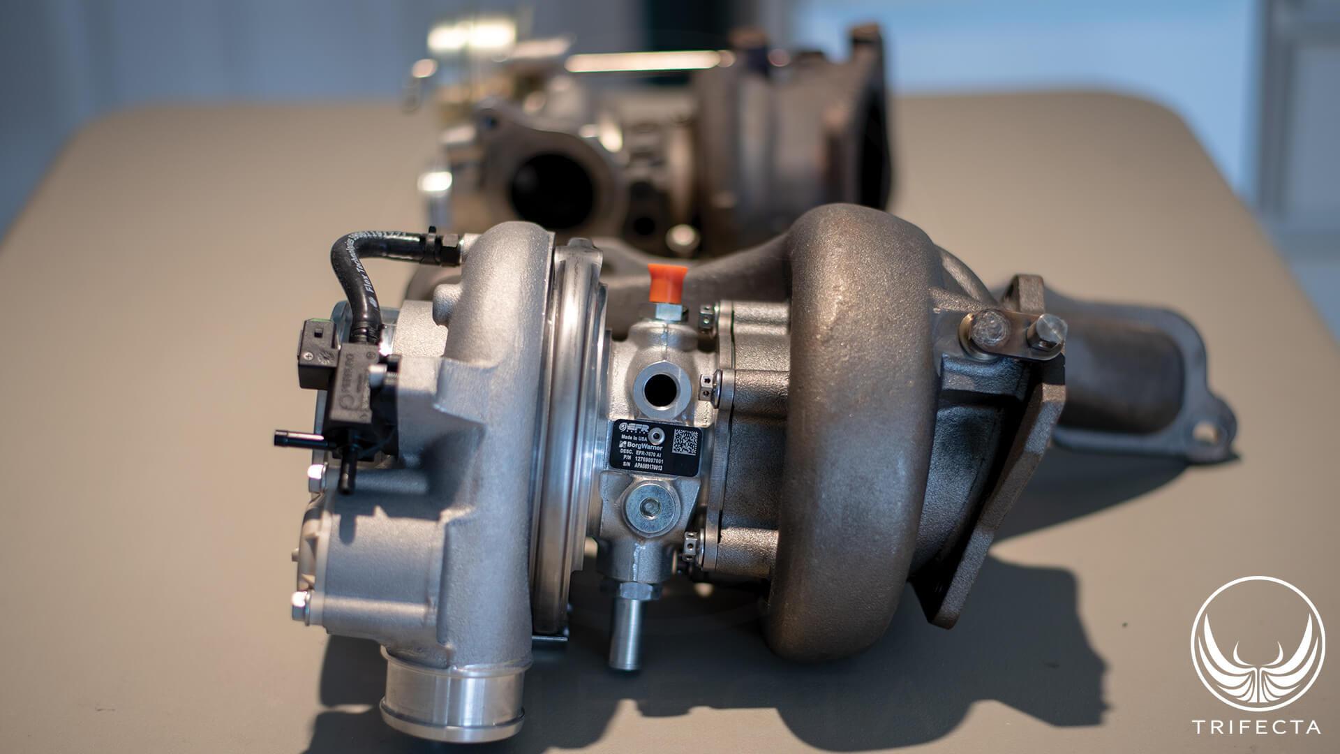 TRIFECTA: Big Turbo (EFR7670) + 2 0L LTG = 500WHP - News