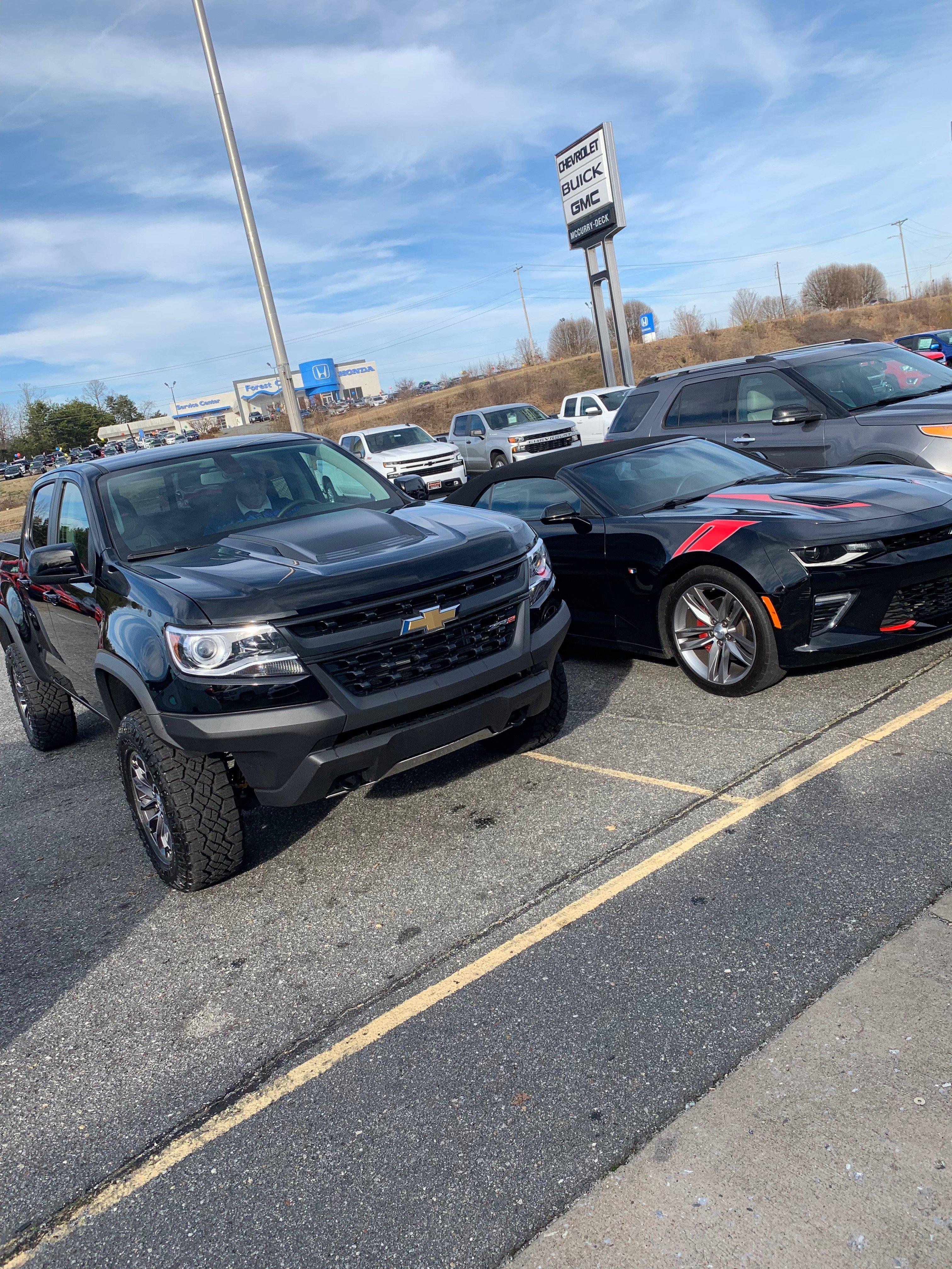 2017--2018+ Chevrolet Colorado - 3 6L - Advantage+